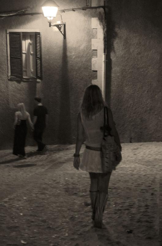 Besuch bei Tante in Ibiza: Nachtspaziergang durch Ibiza-Stadt
